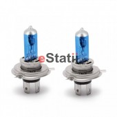 Bec Halogen H4 - 60/55W + 50% intensitate Alb Xenon