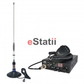 Kit Statie radio CB PNI ESCORT HP 8000 ASQ + Antena   MEGAWAT ML70